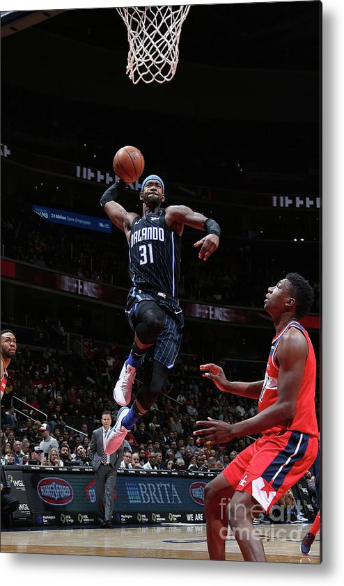 Nba Pro Basketball Metal Print featuring the photograph Terrence Ross by Stephen Gosling