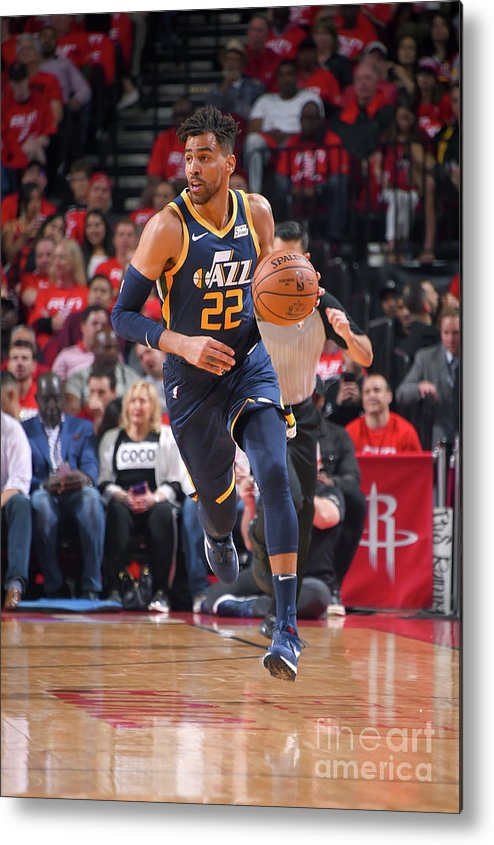 Playoffs Metal Print featuring the photograph Thabo Sefolosha by Bill Baptist