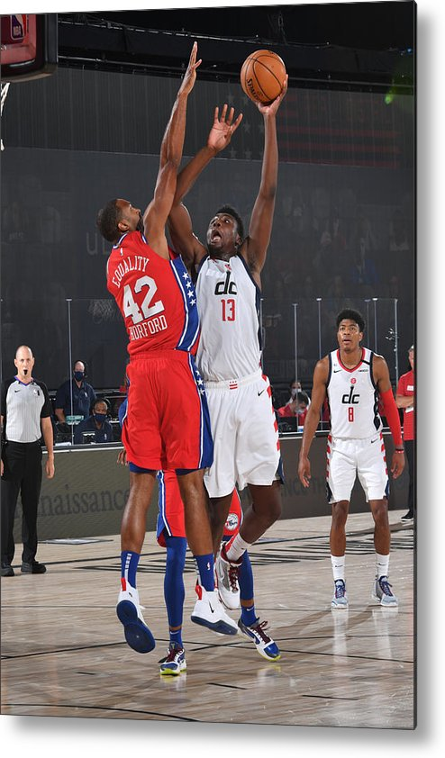Nba Pro Basketball Metal Print featuring the photograph Thomas Bryant by Jesse D. Garrabrant