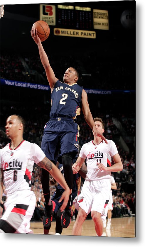 Nba Pro Basketball Metal Print featuring the photograph Tim Frazier by Cameron Browne