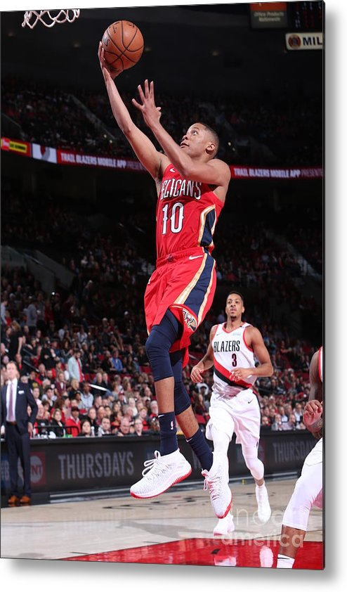 Nba Pro Basketball Metal Print featuring the photograph Tim Frazier by Sam Forencich