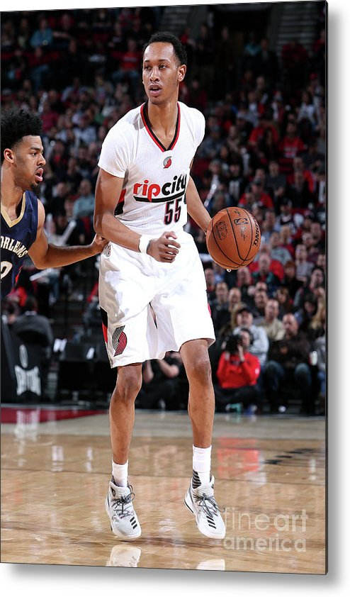 Nba Pro Basketball Metal Print featuring the photograph Tim Quarterman by Sam Forencich