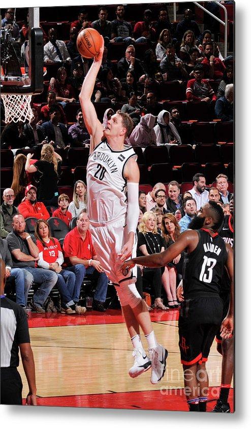 Nba Pro Basketball Metal Print featuring the photograph Timofey Mozgov by Bill Baptist