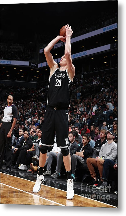 Nba Pro Basketball Metal Print featuring the photograph Timofey Mozgov by Nathaniel S. Butler