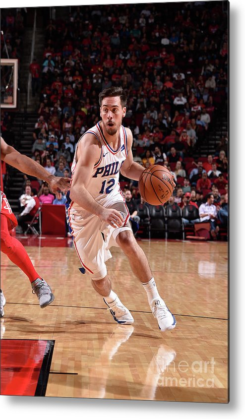 Nba Pro Basketball Metal Print featuring the photograph T.j. Mcconnell by Bill Baptist