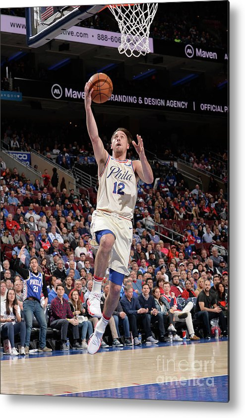 Sports Ball Metal Print featuring the photograph T.j. Mcconnell by David Dow