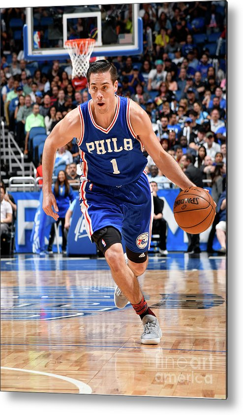 Nba Pro Basketball Metal Print featuring the photograph T.j. Mcconnell by Fernando Medina