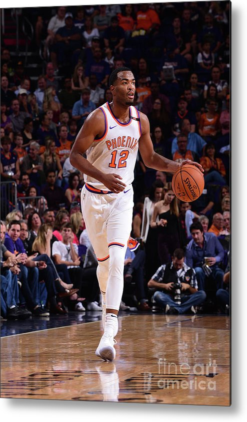 Nba Pro Basketball Metal Print featuring the photograph T.j. Warren by Michael Gonzales