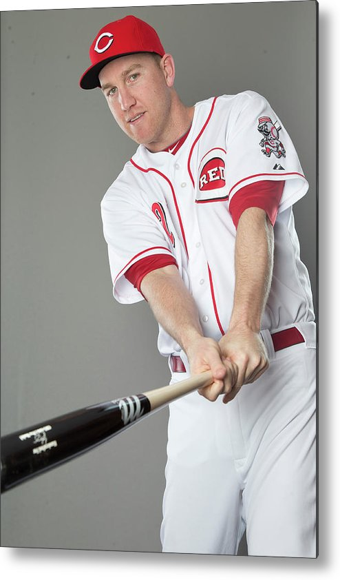 People Metal Print featuring the photograph Todd Frazier by Mike Mcginnis