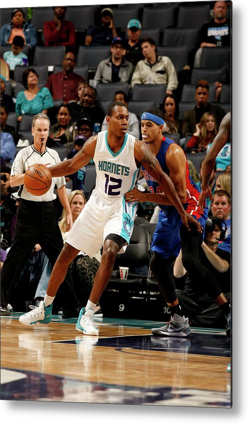 Nba Pro Basketball Metal Print featuring the photograph Treveon Graham by Kent Smith