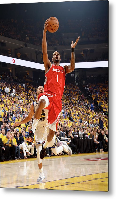 Playoffs Metal Print featuring the photograph Trevor Ariza by Andrew D. Bernstein