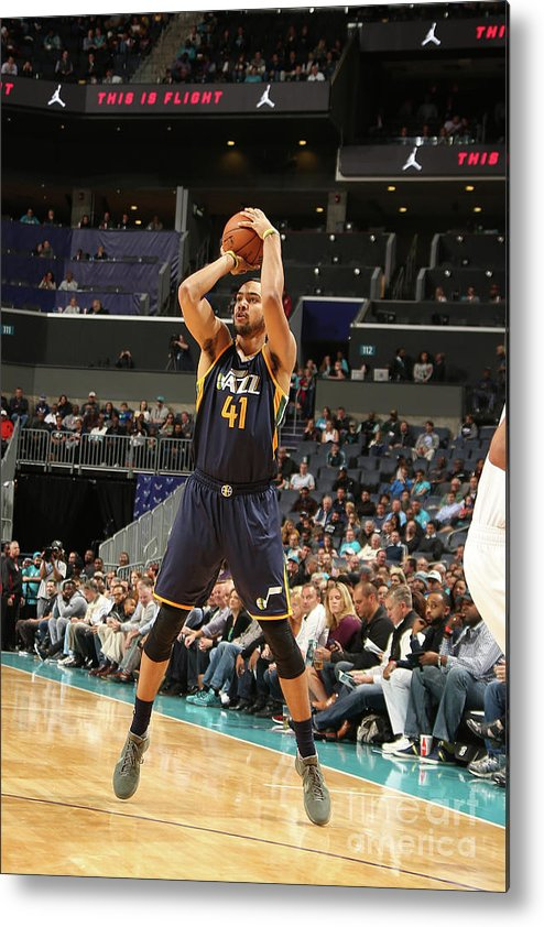 Nba Pro Basketball Metal Print featuring the photograph Trey Lyles by Kent Smith