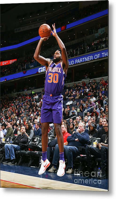Nba Pro Basketball Metal Print featuring the photograph Troy Daniels by Ned Dishman