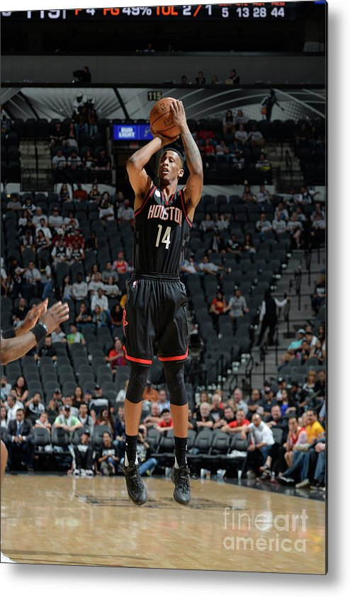 Playoffs Metal Print featuring the photograph Troy Williams by Mark Sobhani