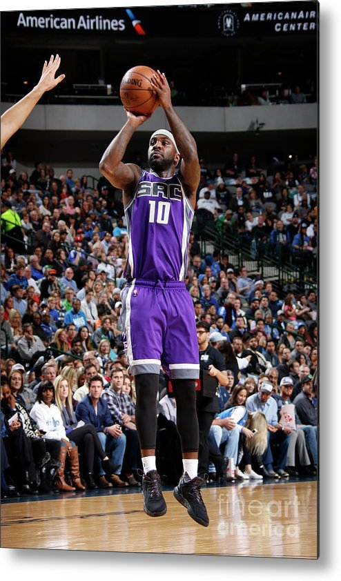 Nba Pro Basketball Metal Print featuring the photograph Ty Lawson by Danny Bollinger