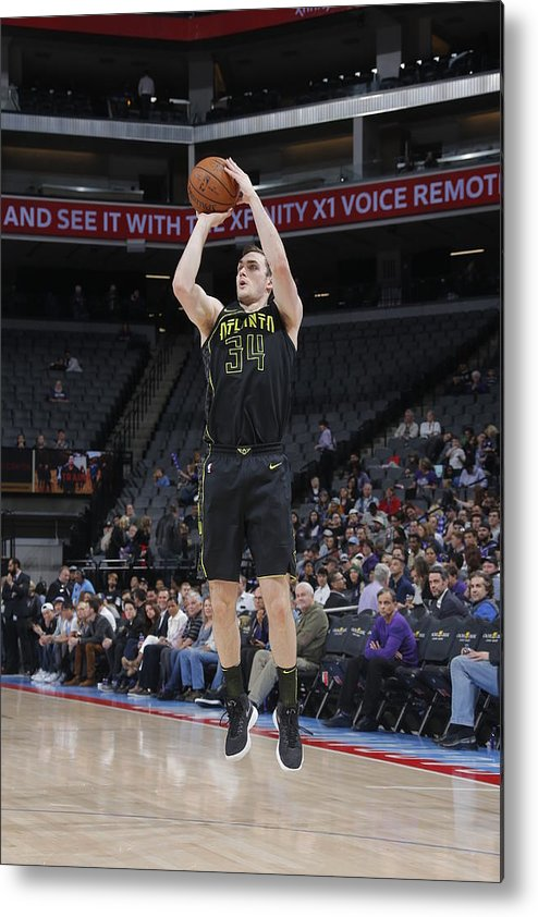 Nba Pro Basketball Metal Print featuring the photograph Tyler Cavanaugh by Rocky Widner