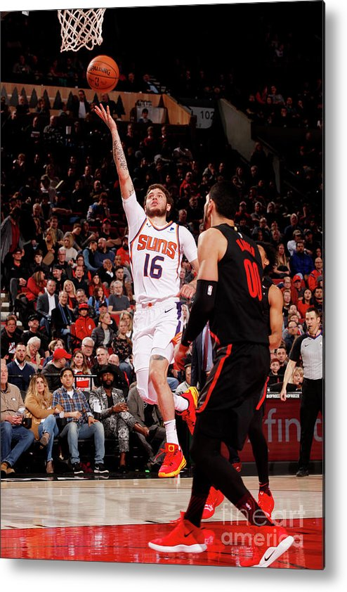 Nba Pro Basketball Metal Print featuring the photograph Tyler Johnson by Cameron Browne