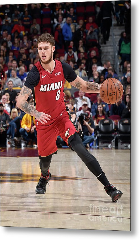 Nba Pro Basketball Metal Print featuring the photograph Tyler Johnson by David Liam Kyle