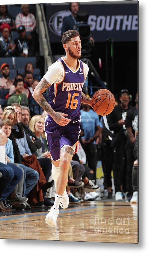 Nba Pro Basketball Metal Print featuring the photograph Tyler Johnson by Joe Murphy