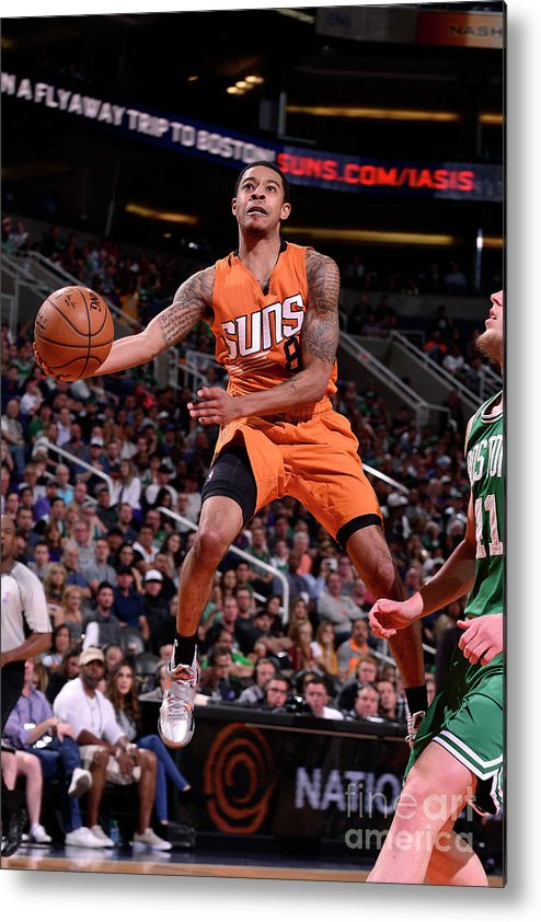 Nba Pro Basketball Metal Print featuring the photograph Tyler Ulis by Barry Gossage