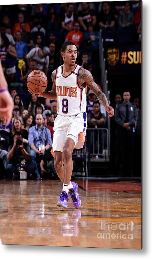Nba Pro Basketball Metal Print featuring the photograph Tyler Ulis by Michael Gonzales