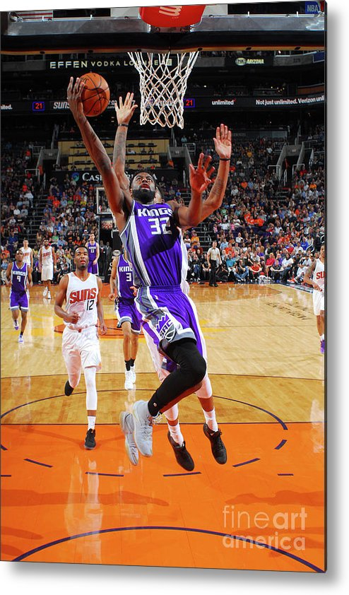 Nba Pro Basketball Metal Print featuring the photograph Tyreke Evans by Barry Gossage
