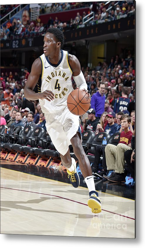 Sport Metal Print featuring the photograph Victor Oladipo by David Liam Kyle