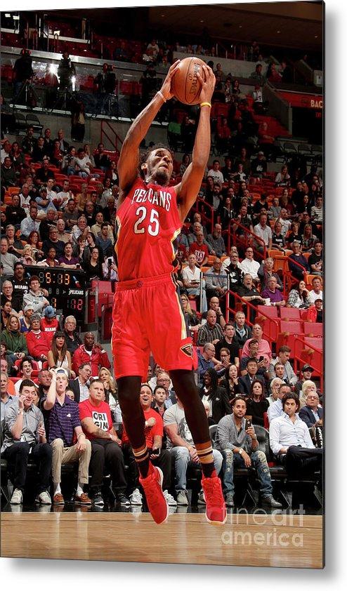 Nba Pro Basketball Metal Print featuring the photograph Wayne Selden by Issac Baldizon
