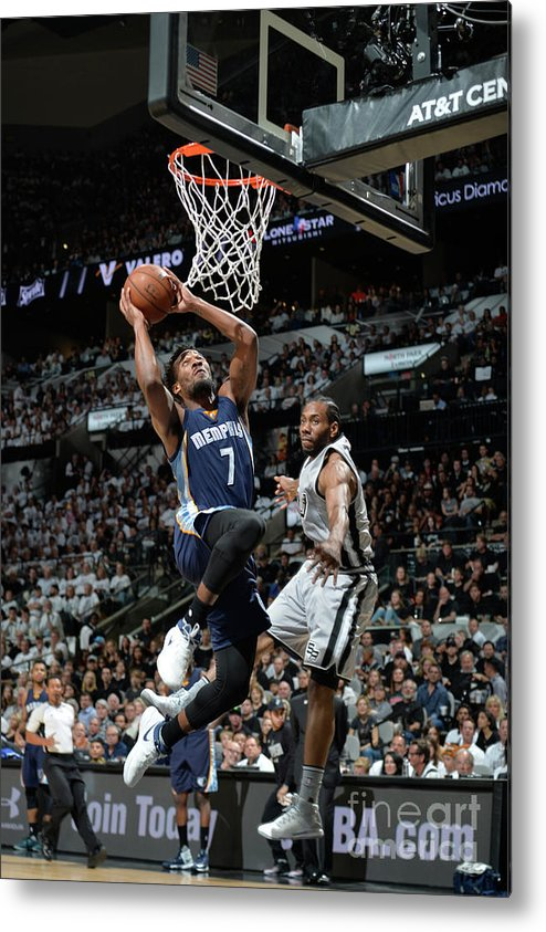 Playoffs Metal Print featuring the photograph Wayne Selden by Mark Sobhani