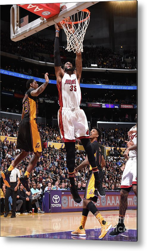 Nba Pro Basketball Metal Print featuring the photograph Willie Reed by Andrew D. Bernstein