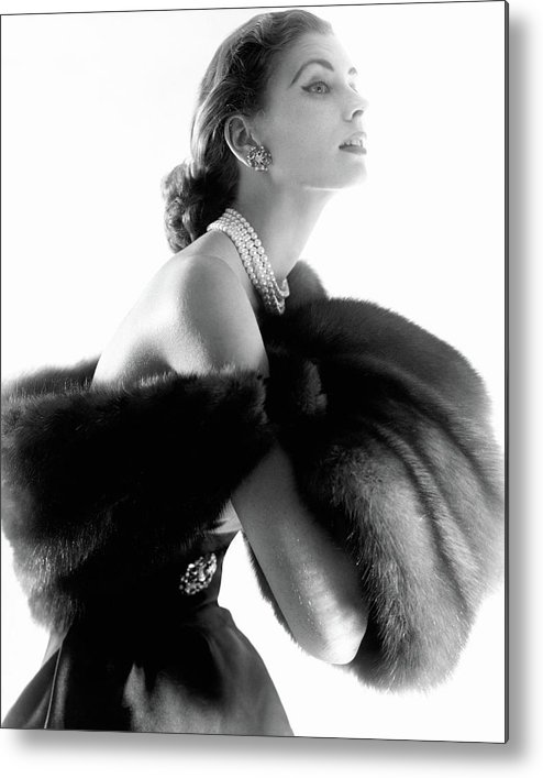 Personality Metal Print featuring the photograph Suzy Parker by Horst P. Horst