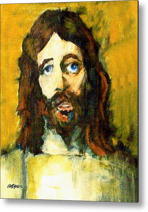 Jesus Christ Metal Print featuring the painting The Galilean by Seth Weaver