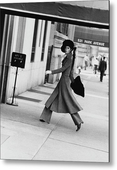 Accessories Metal Print featuring the photograph Windsor Elliot Walking Toward An Apartment by Jack Robinson