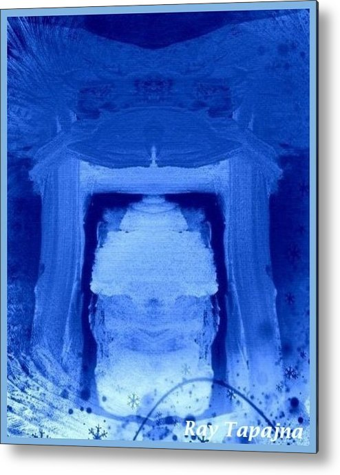 Yesterday Dreams Metal Print featuring the mixed media Tabernacle of Hope by Ray Tapajna