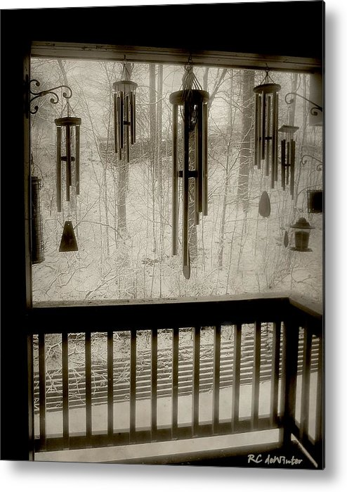 Balcony Metal Print featuring the photograph Breathe Deep The Gathering Gloom by RC DeWinter