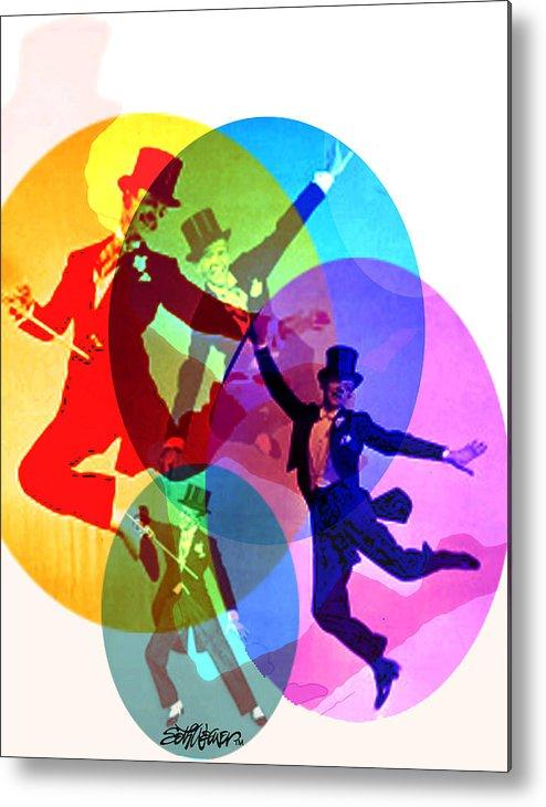 Dancing On Air Metal Print featuring the digital art Dancing on Air by Seth Weaver