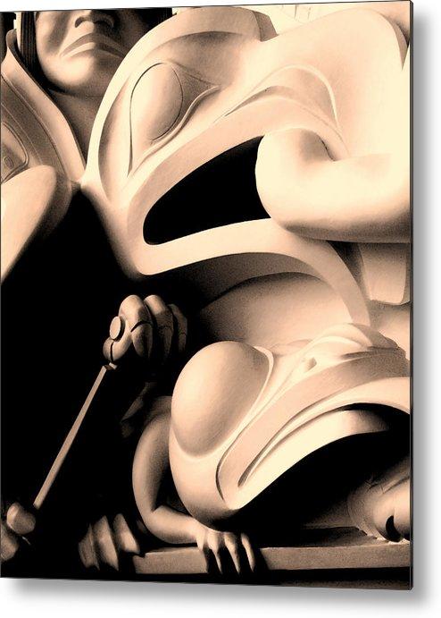Haida Metal Print featuring the photograph Haida Two by Ian MacDonald
