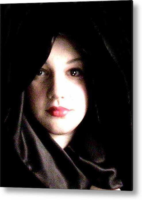 Self Photo Metal Print featuring the photograph Myself by Scarlett Royal