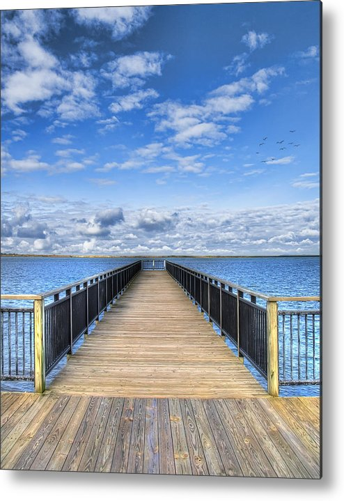 Hdr Metal Print featuring the photograph Summer Bliss by Tammy Wetzel