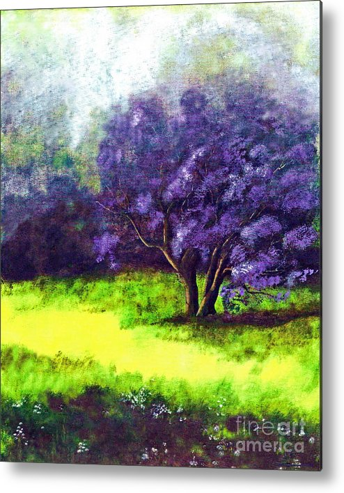 Fine Art Print Metal Print featuring the painting Summer Mist by Patricia Griffin Brett