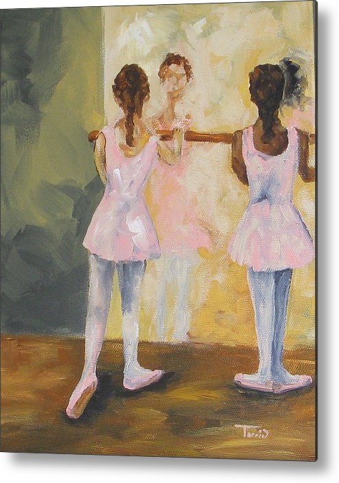 Dancer Metal Print featuring the painting Tiny Dancers by Torrie Smiley