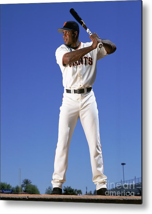 Arizona Metal Print featuring the photograph Barry Bonds by Andy Hayt