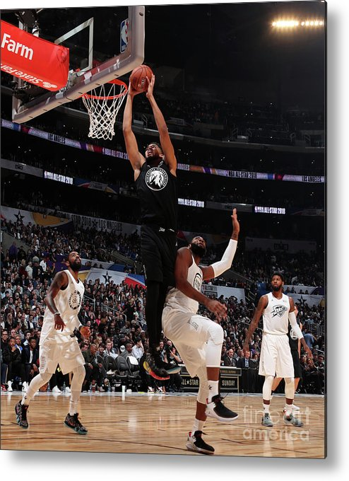 Nba Pro Basketball Metal Print featuring the photograph 2018 Nba All-star Game by Nathaniel S. Butler