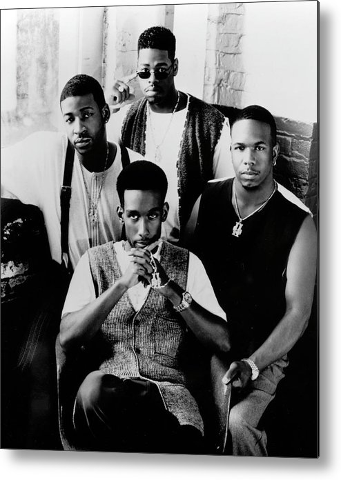 Expertise Metal Print featuring the photograph Boyz II Men by Afro Newspaper/gado