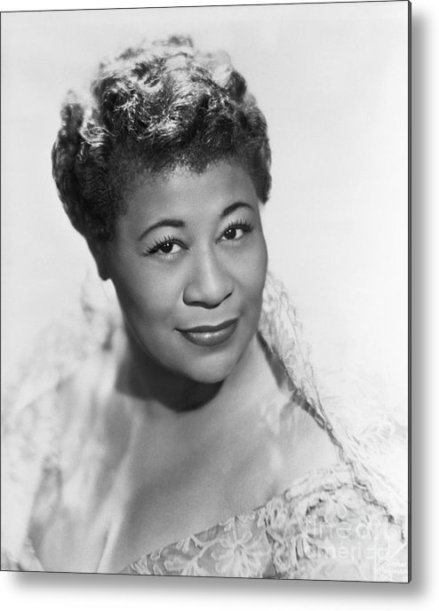 People Metal Print featuring the photograph Ella Fitzgerald by Bettmann