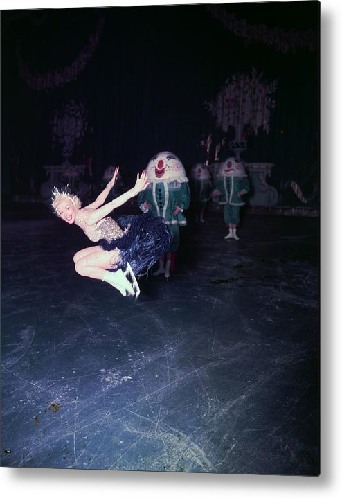 People Metal Print featuring the photograph Ice Dancer by Carl Sutton