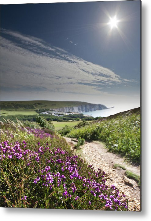 Scenics Metal Print featuring the photograph Not Quite Goodbye by S0ulsurfing - Jason Swain