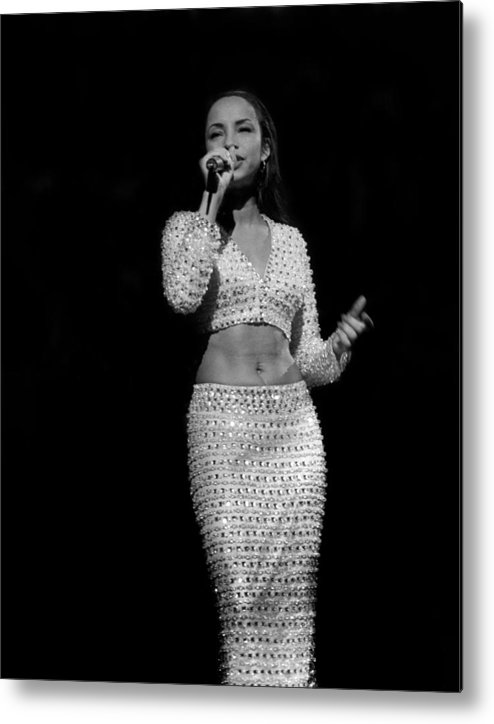 Artist Metal Print featuring the photograph Sade Live In Rosemont, Illinois by Raymond Boyd