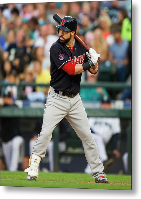 People Metal Print featuring the photograph Jason Kipnis by Rich Lam