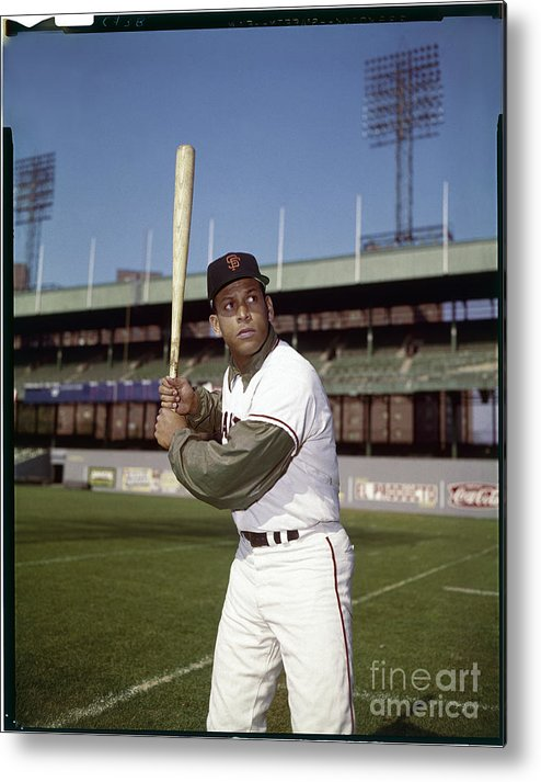 Sports Bat Metal Print featuring the photograph Orlando Cepeda by Louis Requena